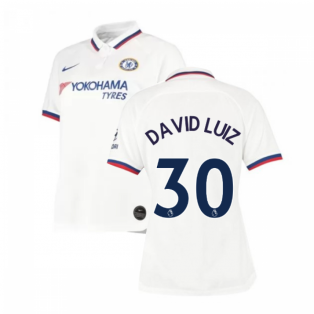 2019-2020 Chelsea Away Nike Ladies Shirt (David Luiz 30)