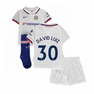 2019-2020 Chelsea Away Nike Little Boys Mini Kit (David Luiz 30)