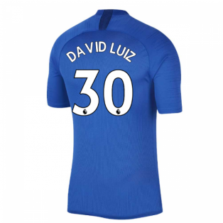 2019-2020 Chelsea Nike Training Shirt (Blue) (David Luiz 30)