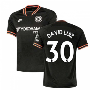 2019-2020 Chelsea Third Nike Football Shirt (David Luiz 30)