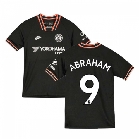 2019-2020 Chelsea Third Nike Football Shirt (Kids) (Abraham 9)