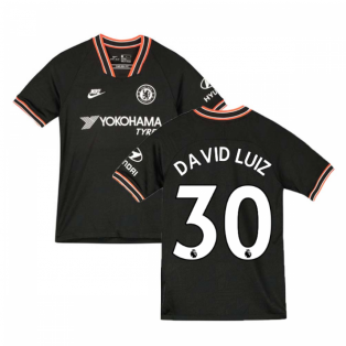 2019-2020 Chelsea Third Nike Football Shirt (Kids) (David Luiz 30)