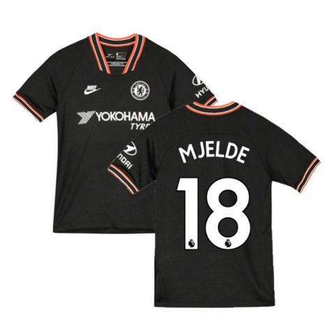 2019-2020 Chelsea Third Nike Football Shirt (Kids) (Mjelde 18)