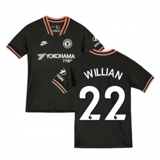 2019-2020 Chelsea Third Nike Football Shirt (Kids) (Willian 22)
