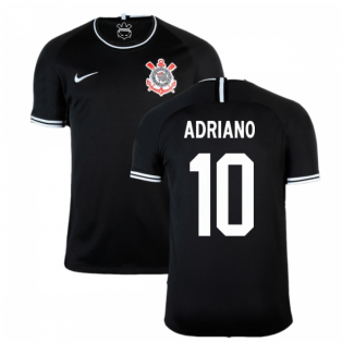 2019-2020 Corinthians Away Nike Football Shirt (Adriano 10)
