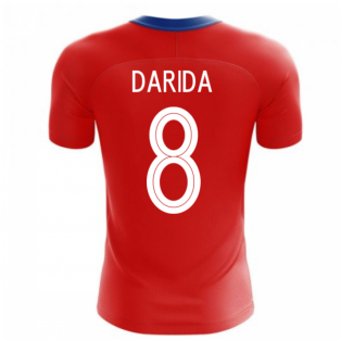2020-2021 Czech Republic Home Concept Football Shirt (DARIDA 8)