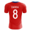 2020-2021 Czech Republic Home Concept Football Shirt (DARIDA 8)