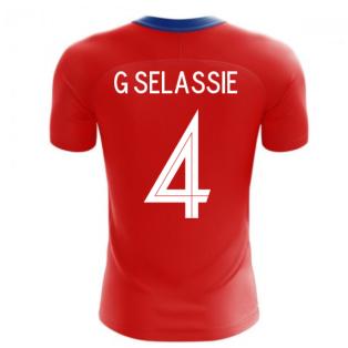 2020-2021 Czech Republic Home Concept Football Shirt (G SELASSIE 4)