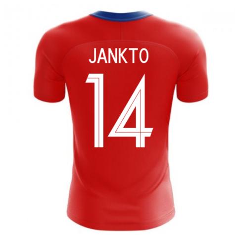 2020-2021 Czech Republic Home Concept Football Shirt (JANKTO 14)