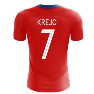 2020-2021 Czech Republic Home Concept Football Shirt (KREJCI 7)