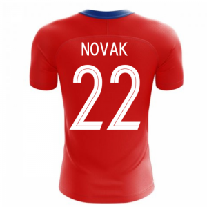 2020-2021 Czech Republic Home Concept Football Shirt (NOVAK 22)