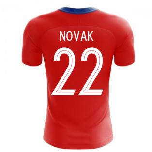 2020-2021 Czech Republic Home Concept Football Shirt (NOVAK 22)