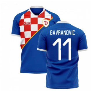 2019-2020 Dinamo Zagreb Home Concept Football Shirt (Gavranovic 11)
