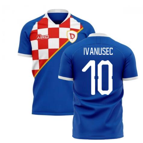 2019-2020 Dinamo Zagreb Home Concept Football Shirt (Ivanusec 10)