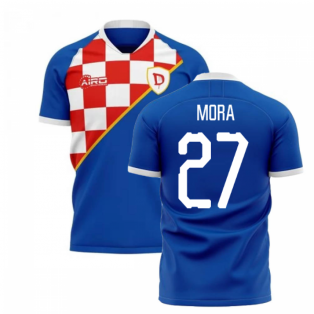2019-2020 Dinamo Zagreb Home Concept Football Shirt (Mora 27)