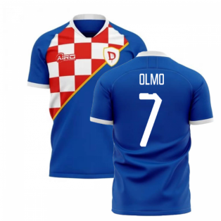 2019-2020 Dinamo Zagreb Home Concept Football Shirt (Olmo 7)