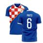 2019-2020 Dinamo Zagreb Home Concept Football Shirt (Pinto 6)