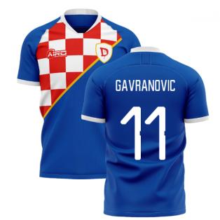 2020-2021 Dinamo Zagreb Home Concept Shirt (Gavranovic 11)
