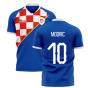 2020-2021 Dinamo Zagreb Home Concept Shirt (Modric 10)
