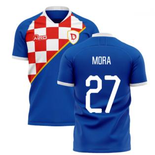 2020-2021 Dinamo Zagreb Home Concept Shirt (Mora 27)