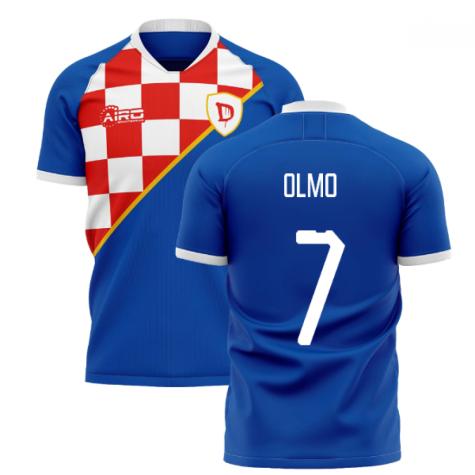 2020-2021 Dinamo Zagreb Home Concept Shirt (Olmo 7)