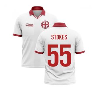 2020-2021 England Cricket Concept Shirt (Stokes 55)