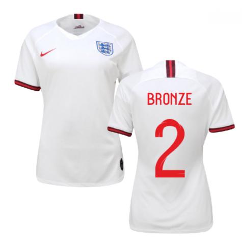 2019-2020 England Home Nike Womens Shirt (Bronze 2)