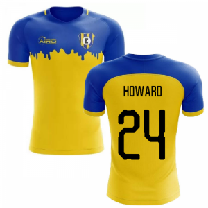 2020-2021 Everton Away Concept Football Shirt (HOWARD 24)
