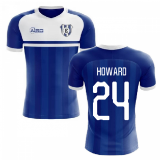 2020-2021 Everton Home Concept Football Shirt (HOWARD 24)