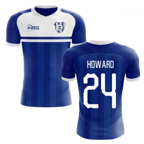 2020-2021 Everton Home Concept Football Shirt (HOWARD 24)