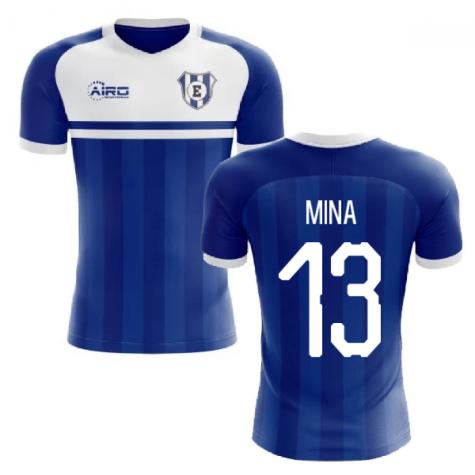 2020-2021 Everton Home Concept Football Shirt (MINA 13)