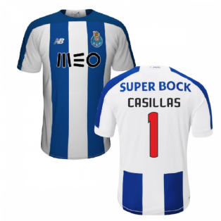2019-2020 FC Porto Home Football Shirt (Casillas 1)