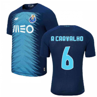 2019-2020 FC Porto Third Football Shirt (R Carvalho 6)