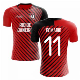 2020-2021 Flamengo Home Concept Football Shirt (Romario 11)
