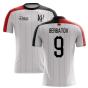 2019-2020 Fulham Home Concept Football Shirt (Berbatov 9)