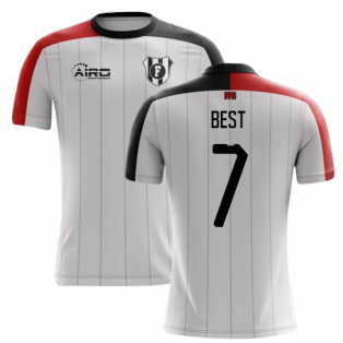 2020-2021 Fulham Home Concept Football Shirt (Best 7) - Kids