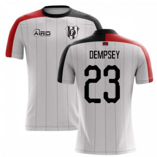 2020-2021 Fulham Home Concept Football Shirt (Dempsey 23)