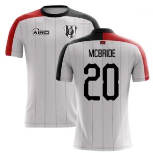 2020-2021 Fulham Home Concept Football Shirt (McBride 20)