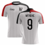 2019-2020 Fulham Home Concept Football Shirt (Mitrovic 9)