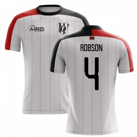 2019-2020 Fulham Home Concept Football Shirt (Robson 4)