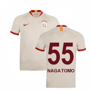 2019-2020 Galatasaray Away Shirt (Nagatomo 55)