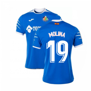 2019-2020 Getafe Joma Home Football Shirt (MOLINA 19)