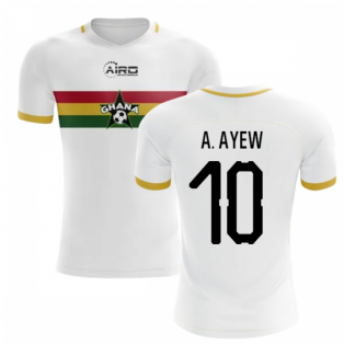 2019-2020 Ghana Away Concept Football Shirt (A. Ayew 10)