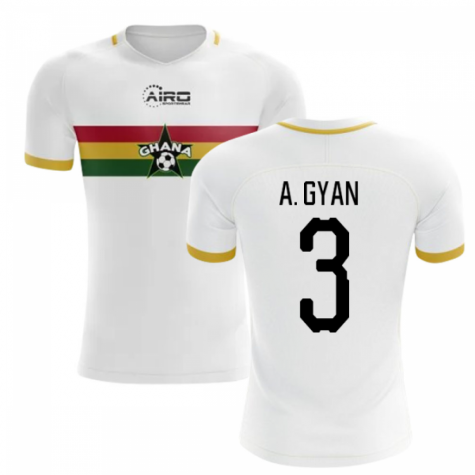 2019-2020 Ghana Away Concept Football Shirt (A. Gyan 3) - Kids