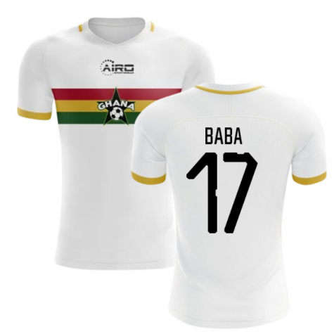 2019-2020 Ghana Away Concept Football Shirt (Baba 17)