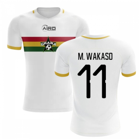 2019-2020 Ghana Away Concept Football Shirt (M. Wakaso 11)