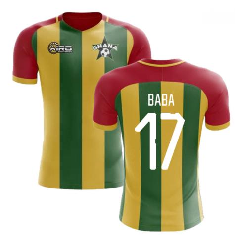 2020-2021 Ghana Home Concept Football Shirt (Baba 17)
