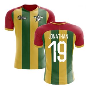 2019-2020 Ghana Home Concept Football Shirt (Jonathan 19)