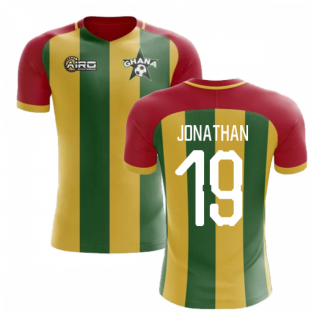 2020-2021 Ghana Home Concept Football Shirt (Jonathan 19)