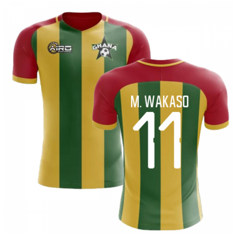 2019-2020 Ghana Home Concept Football Shirt (M. Wakaso 11) - Kids